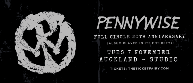 Pennywise are heading to New Zealand for a one-off show next month