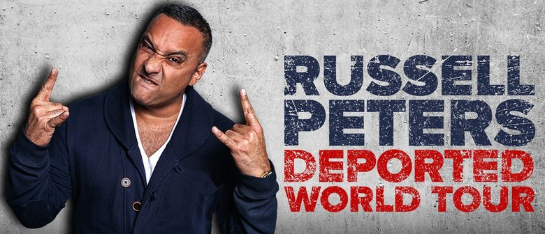Russell Peters brings Deported World Tour to NZ shores next year