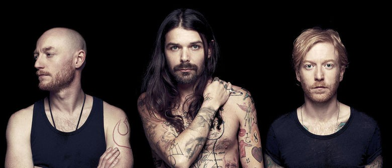 Scottish rockstars Biffy Clyro return to New Zealand next fall