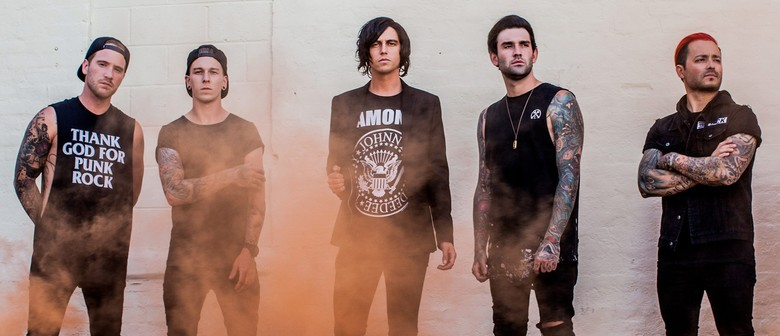Sleeping With Sirens performs a one-off show in Auckland this April