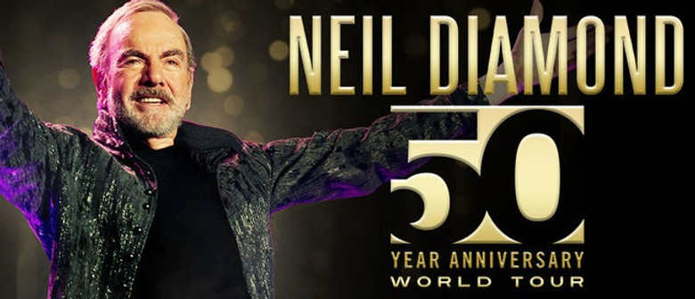 Neil Diamond brings 50th Year Anniversary tour to NZ shores next year