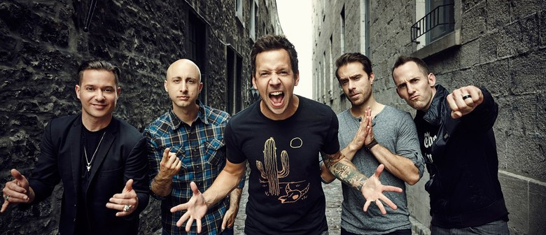 Simple Plan to play debut album No Pads, No Helmets... Just Balls in Auckland this April