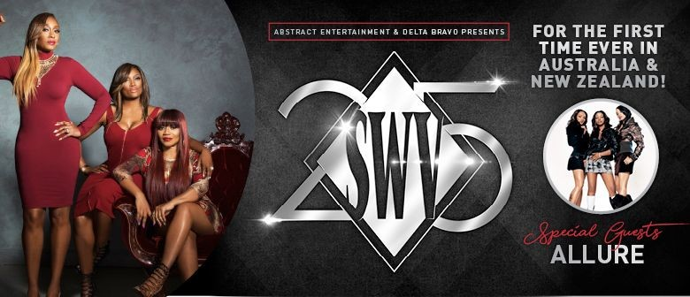 SWV will be hitting NZ shores next month for their 25th anniversary tour