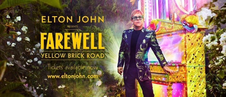 Sir Elton John all set for final tour; details of NZ shows soon