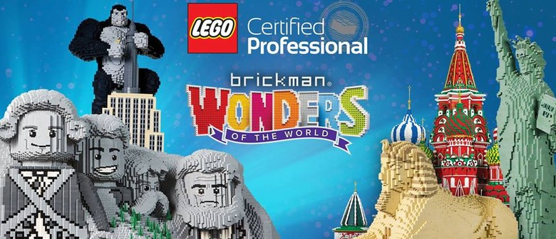 Auckland Museum set to host 'Brickman Wonders Of The World'