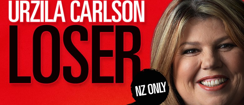 Urzila Carlson brings 'Loser' tour to NZ this May