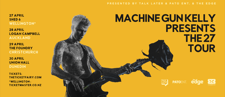 Machine Gun Kelly brings headlining tour to NZ shores next month