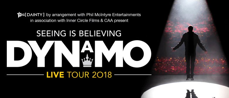 Award-winning magician DYNAMO tours New Zealand for the first time this July