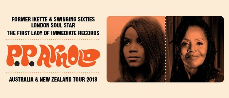 PP Arnold to play debut show in NZ this May