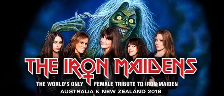 The Iron Maidens to hit NZ shores for the first time this May