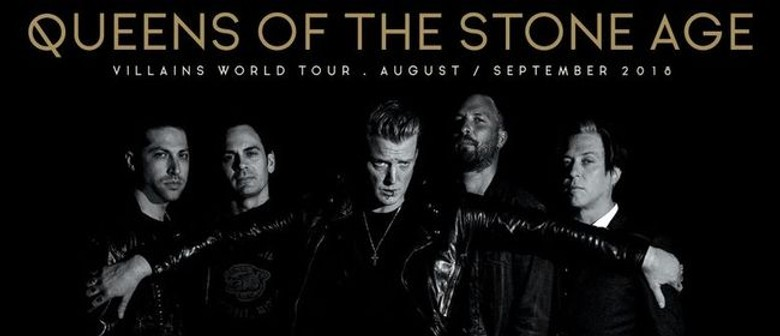 Queens Of The Stone Age will reign over Kiwi stages this August