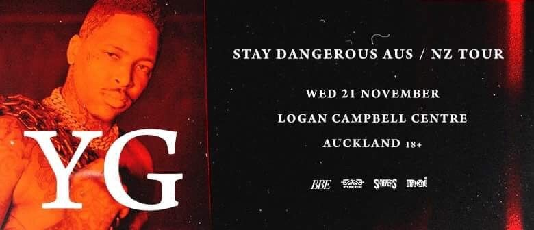 YG heads back to Auckland for his one-off show this November