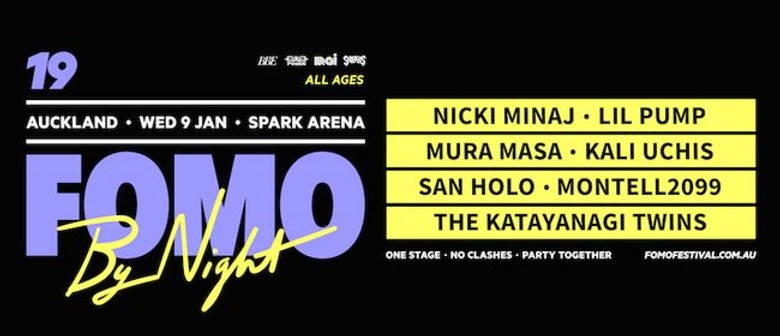 FOMO By Night announces 2019 lineup