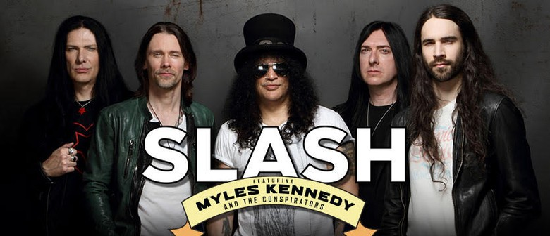 Slash ft. Myles Kennedy & The Conspirators Announce Two NZ Shows – Living The Dream Tour 2019