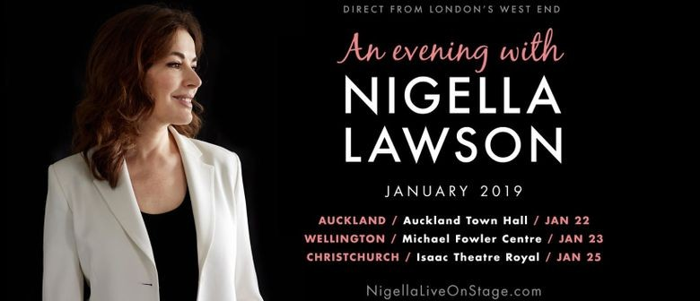 Nigella Lawson to grace New Zealand stages this 2019