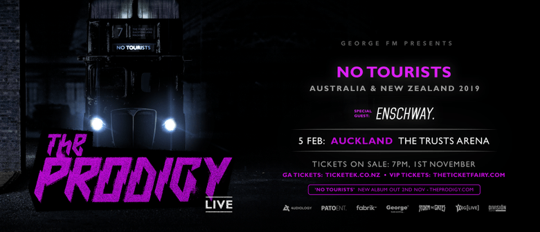 The Prodigy to play 'No Tourists' tour in New Zealand this 2019
