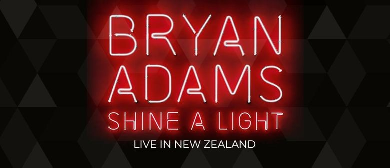 Bryan Adams will be blasting up NZ stages in March next year