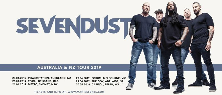 Sevendust announce one-off NZ concert in April 2019