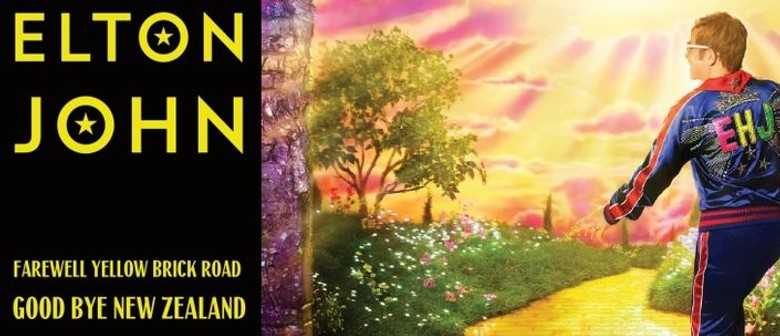 Elton John adds new Auckland date to Farewell Yellow Brick Road NZ Tour
