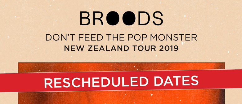 Broods announce new date for Christchurch show