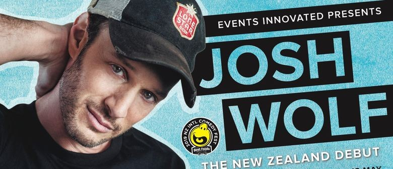Josh Wolf performs for the first time in NZ this May
