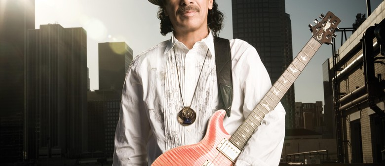 Carlos Santana Returns to NZ for Auckland and Christchurch Shows