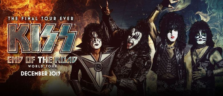 Push Push announced as special guest for KISS 'End Of The Road Tour'