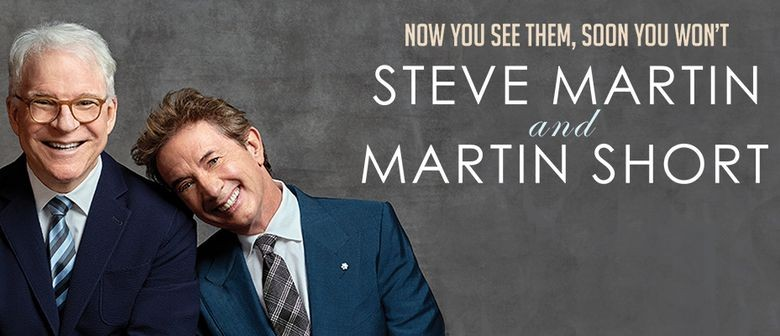 Steve Martin and Martin Short play their first-ever New Zealand show this November