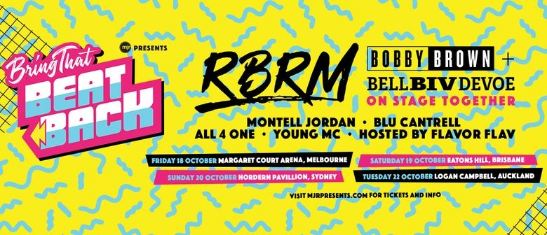 'Bring That Beat Back' hits New Zealand with a stellar lineup this October