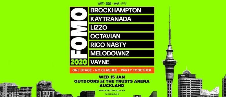 FOMO reveals full festival lineup for 2020
