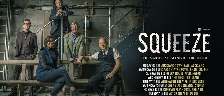 Squeeze Tour 2020 Squeeze's 'The Songbook' tour to dominate NZ stages in February