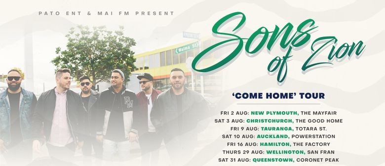 Sons of Zion go on the road next month for their 'Come Home' tour