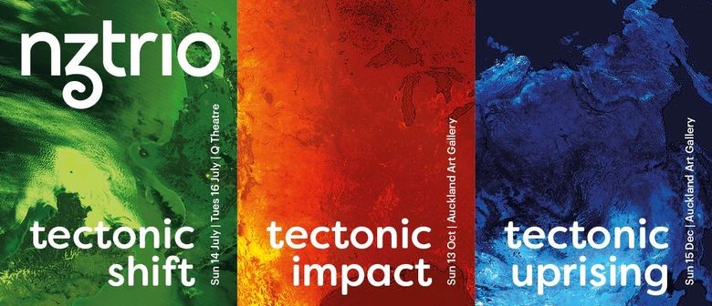 NZTrio's 'Tectonic Impact' tour hits New Zealand this October