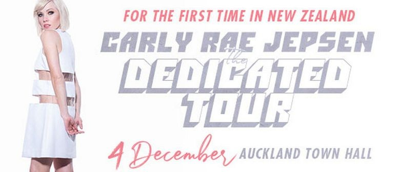 Pop superstar Carly Rae Jepsen announces her first ever New Zealand show
