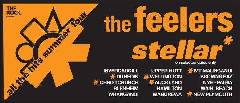 The Feelers embark on their massive 'All The Hits Summer Tour' this November to January