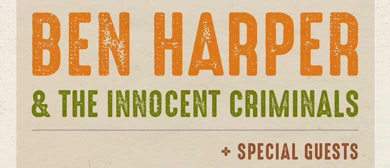 Ben Harper and The Innocent Criminals To Tour New Zealand in February 2020