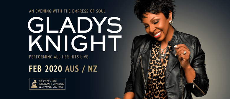 Gladys Knight Sings Her Way to New Zealand in February 2020