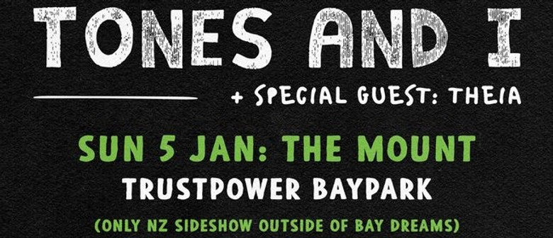 Tones and I Announces Headlining NZ Show in January 2020