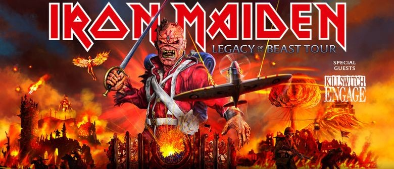 Iron Maiden Announce One New Zealand Show on Their 'Legacy Of The Beast Tour 2020'
