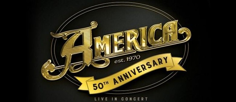 America to perform their '50th Anniversary Tour' in NZ this November