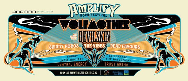 Amplify Rock Festival is Blasting into Palmerston North this Summer!