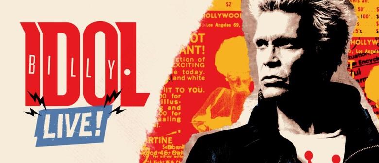 Billy Idol locks in NZ Show for January 2020