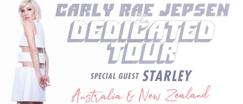 Starley announced to support Carly Rae Jepsen on her New Zealand Tour