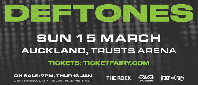 Deftones to dominate New Zealand with their one-off concert this March
