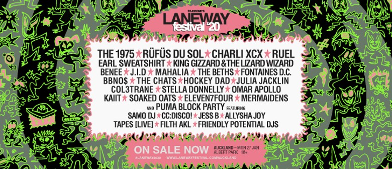 St. Jerome's Laneway Festival 2020 introduces The Puma Block Party