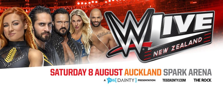 WWE Live returns to New Zealand this August