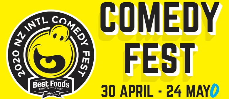 NZ Comedy Fest 2020 announces massive lineup of shows this April and May