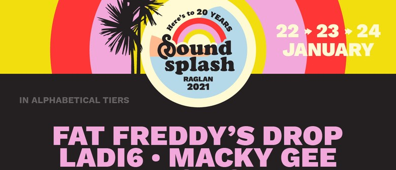 Soundsplash is set to celebrate 20th anniversary in style