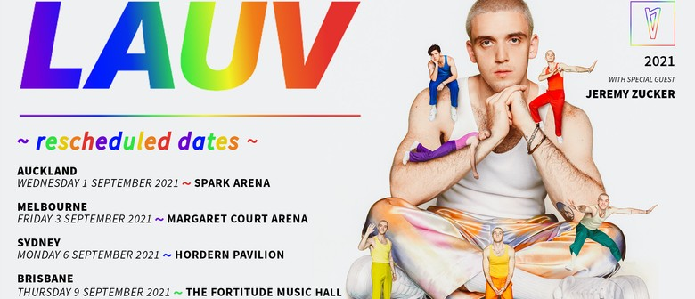 LAUV reschedules ~how i'm feeling~ NZ Tour to September 2021