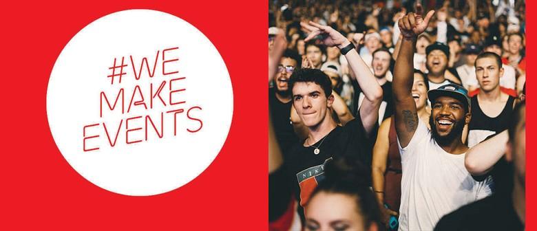 #WeMakeEventsNZ - Stand as One